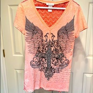 Women's M Embellished T Shirt